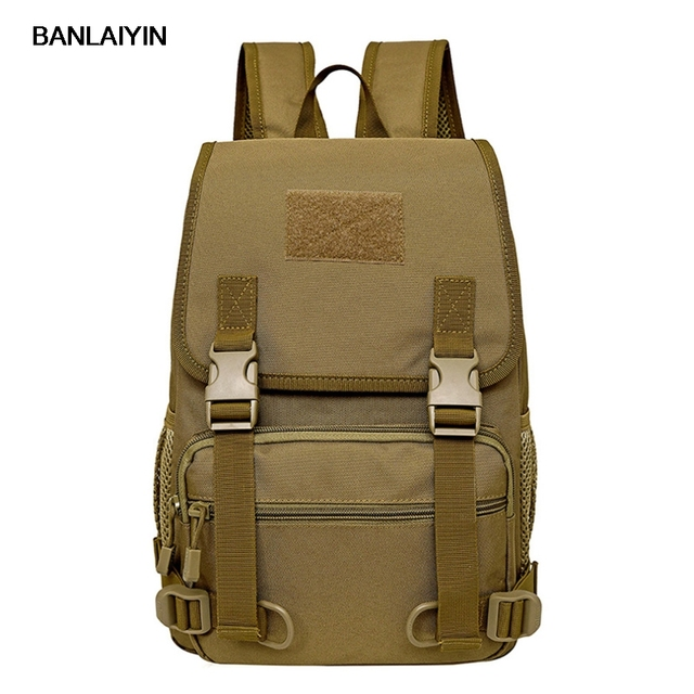 Nice New Men Durable Nylon Backpack Travel Military Laptop Student School Book Bag Casual Daypack