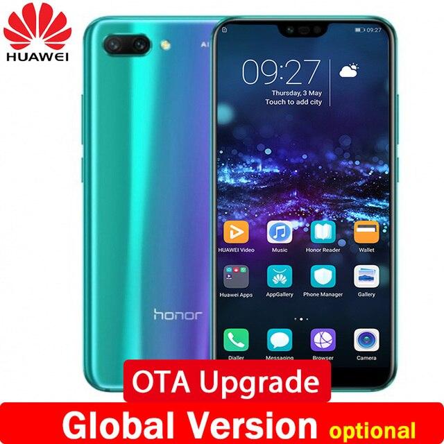 4e6abe80c88c0 2018 Новое поступление huawei honor 10 honor 10 Телефон 4 ГБ/6 ГБ  оперативная память