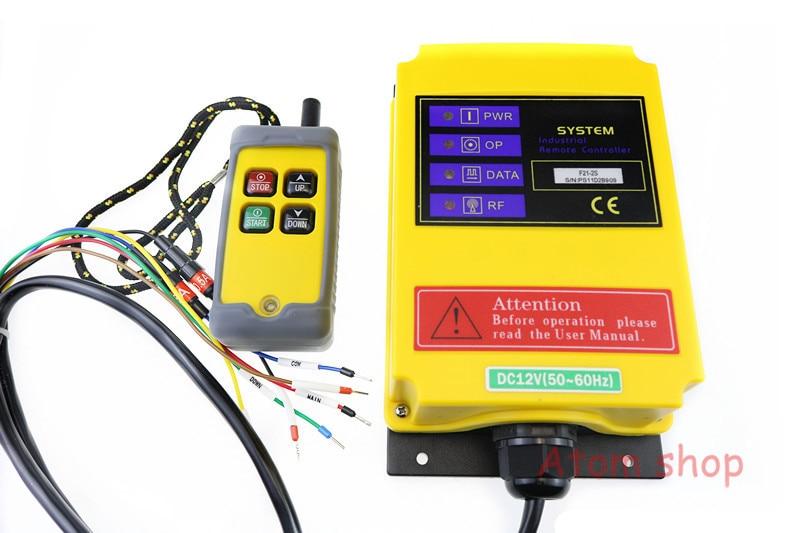 4 canaux F21-2S grue électrique télécommande industrielle sans fil télécommande grue commutateur 24VDC 36 V 110 V 220 V 380 V