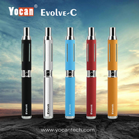 Yocan Evolve C Kit Special Version 2 In 1 Vapor Kit Wax CBD Oil Atomizer Vaporizer