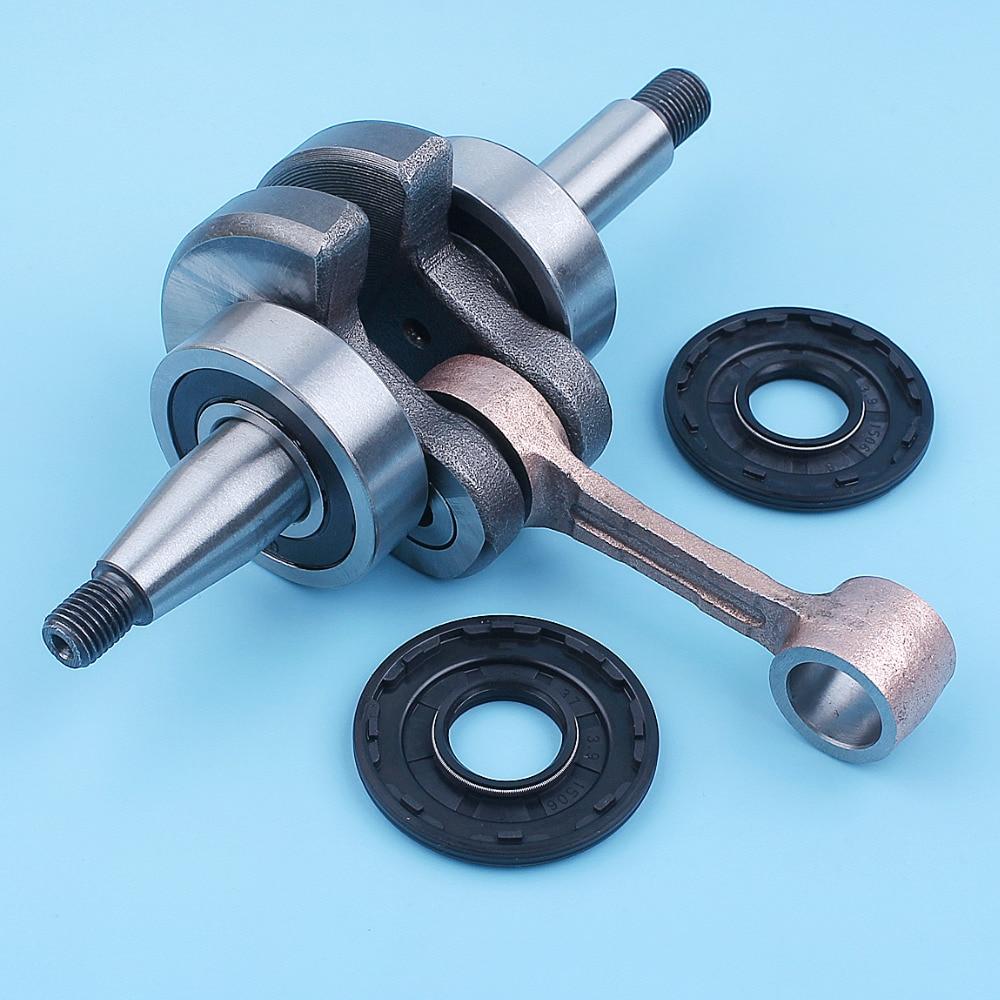 Crankshaft Ball Bearing Oil Seal Kit For Husqvarna 450 Rancher 445 450e 445e II Chainsaw Crank Shaft Assembly Spare Parts