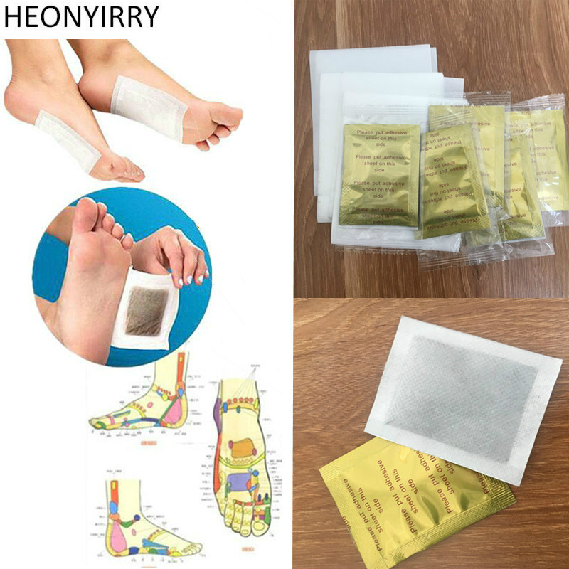 20 Pcs Herbal Detox GOLD Foot Pads Patches Feet Care Medical Plaster Foot Remover Relieving Pain Foot Massager Free Shipping 25 pair herbal detox foot pad patch massage relaxation herbs medical health care plaster treatment joint pain improve sleep rp2