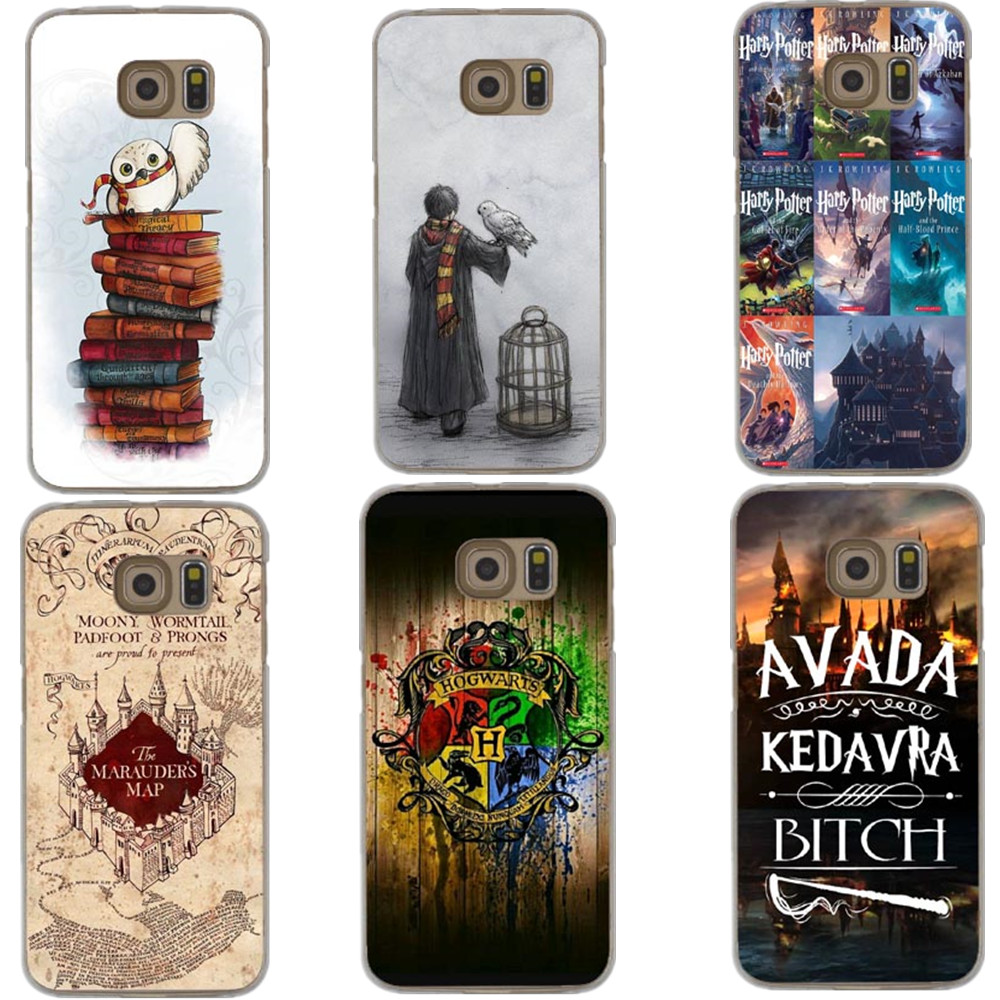 Phone Case Book Hard Hogwarts Potter Harry Cover For S9 Plus Samsung S5 S7-Edge Note 8