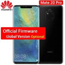HUAWEI Mate 20 Pro cep telefonu 6.39 inç 2 k OLED Ekran su geçirmez IP68 40 MP Arka Kamera Kirin 980 octa çekirdekli YÜZ KIMLIK ...
