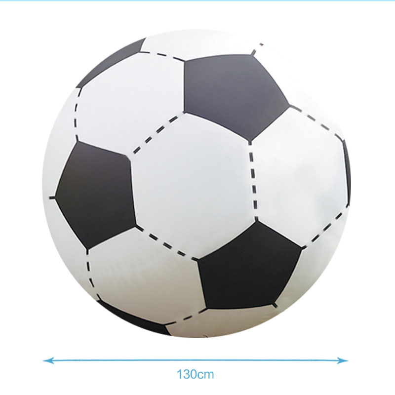 Giant Water Toys Inflatable Beach Ball 130cm Inflated Football Children Outdoor Fun Sport Toys Summer Swimming Pool Party Favor (5)
