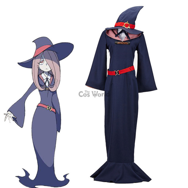 little witch academia sucy mambavaran dress uniform outfit anime