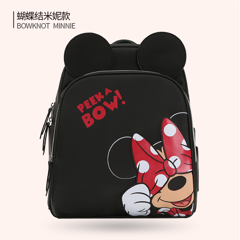 Disney Multi function Milk Bottle Insulation Bag With USB Warmer Mother Nappy Bags Baby Care Nappy