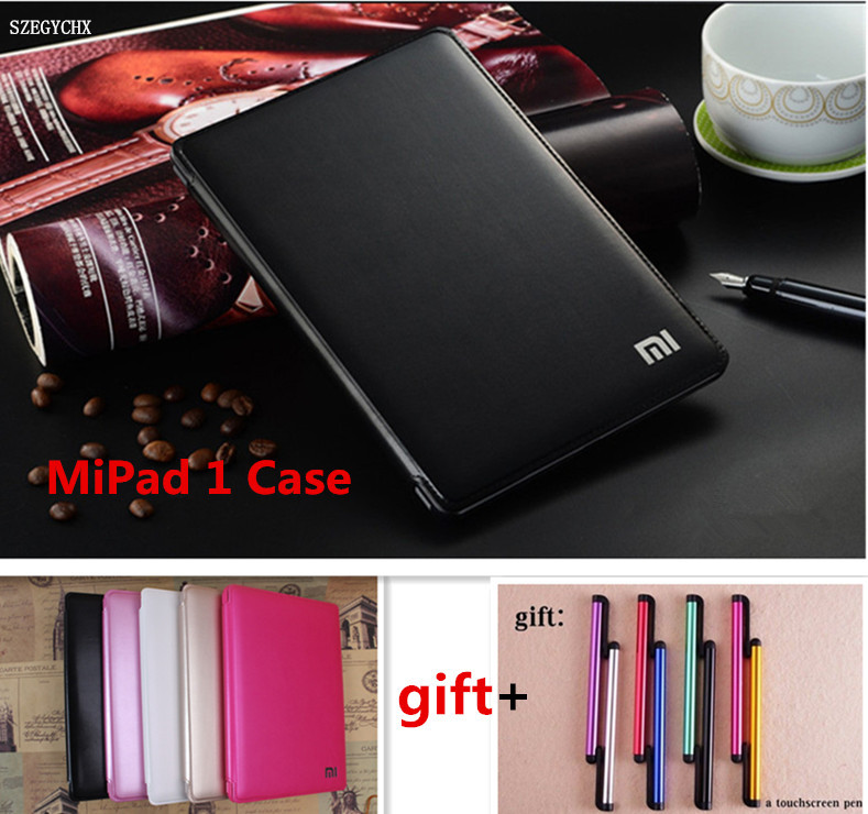 Tablet PU Case For Xiaomi MiPad 1 Case Shockproof Drop Dust Business Flat Protective For Xiao mi Mi Pad 1 Cover 7.9 . SZEGYCHX