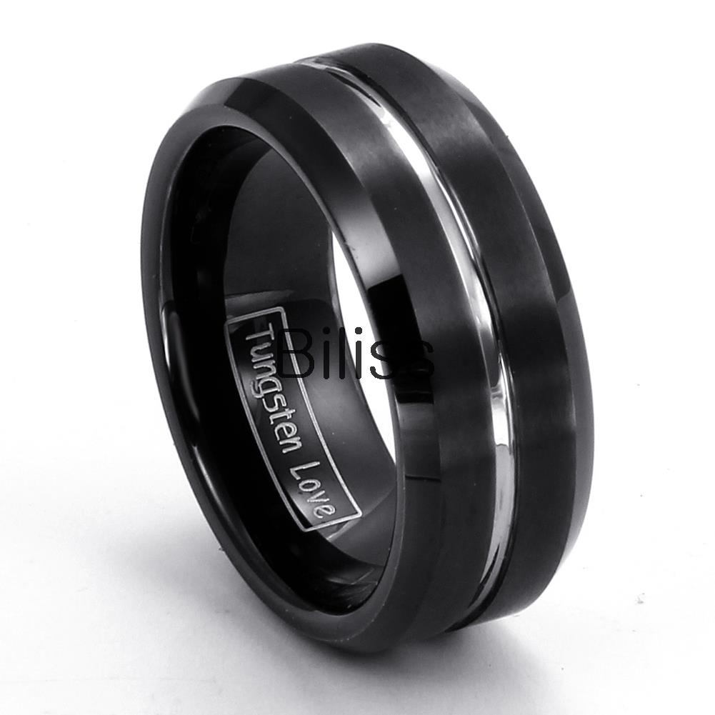 tungsten male wedding bands - Tungsten Mens Wedding Rings