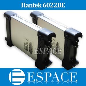 Image 1 - 5 USB הדיגיטלי Storag יח\חבילה מבוסס מחשב Hantek 6022BE אוסצילוסקופ 2 ערוצים 20 MHz 48MSa/s עם מקורי תיבת DHL חינם