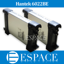 5pcs/Lot Hantek 6022BE PC Based USB Digital Storage Oscilloscope 2 Channels 20mhz 48msa/s With Original Box Free DHL