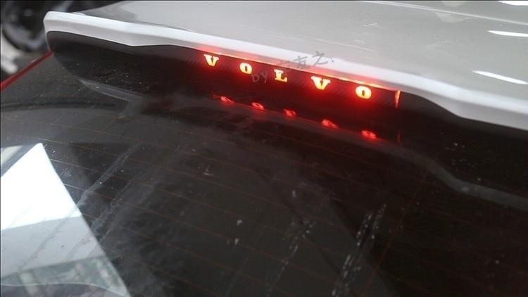 Automobile Carbon Fiber High Brake Light Stickers Decoration Vinyl Sticker Decal For Volvo /v40 /xc60
