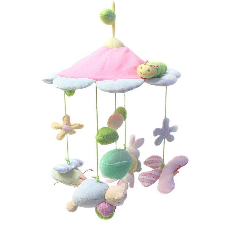 Princess animals pink baby newborn infant crib mobile toys for Princess crib mobile