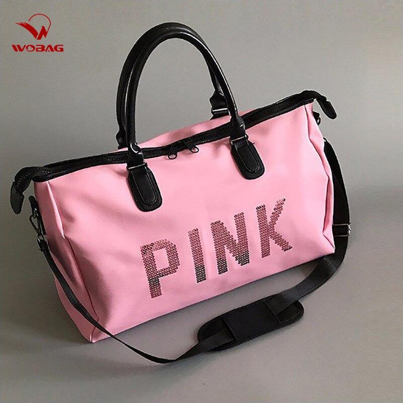 Women Traveling Shoulder Bag Large Capacity Travel Bag Hand Luggage Bag Clothes Organizer Glamor Girl Duffle Bags 2019 Hot Sale