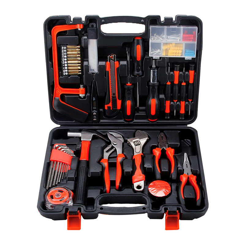 Hand tool group professional DIY household tool set home renovation telecommunication woodworking 13pcs/13-2pc/45pcs/82pc/102pcs growth of telecommunication services