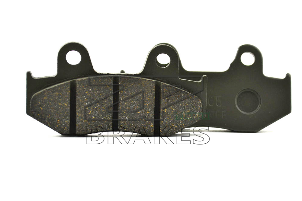 New Organic Brake Pads For Front <font><b>HONDA</b></font> CR 500 1986 <font><b>XR</b></font> <font><b>350</b></font> RE-RD 1984 XLX <font><b>350</b></font> 1989 XL <font><b>350</b></font> R 1985-1986 Motorcycle BRAKING DTRAD image