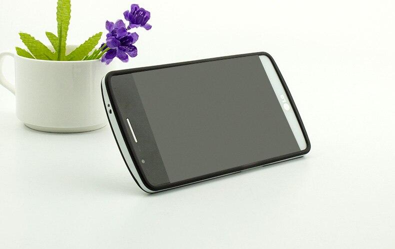 Ultra-thin PC Frame TPU Soft Cover Silicon Case for LG G4 Matte Feel - Բջջային հեռախոսի պարագաներ և պահեստամասեր - Լուսանկար 5
