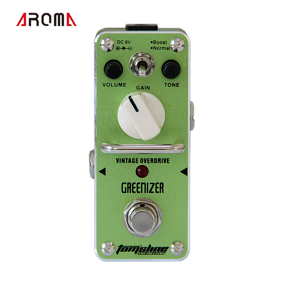 Promotion product group ! AROMA  GREENIZER  Vintage overdrive  Mini Analogue Effect product differentiation