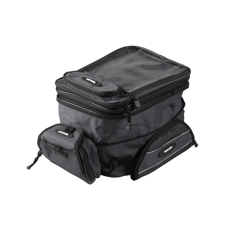 Motocicleta tanque saco capacete de segurança corrida Motobike Backpack Magnet bagagem bolsa de viagem resistência à água