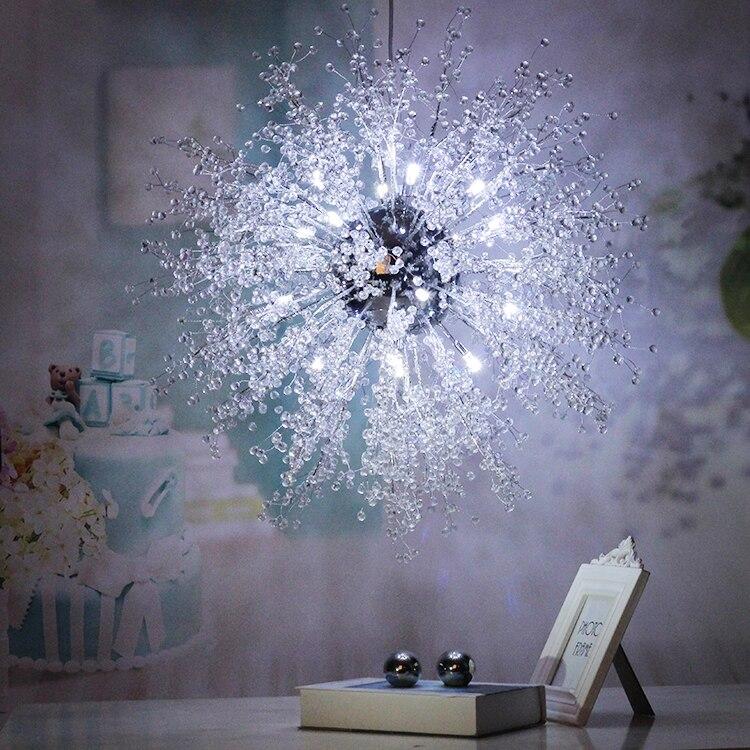 Lampe décorative escalier salon, chambre ciel étoile pendentif lumière maison couloir personnalité créative moderne villa lampe