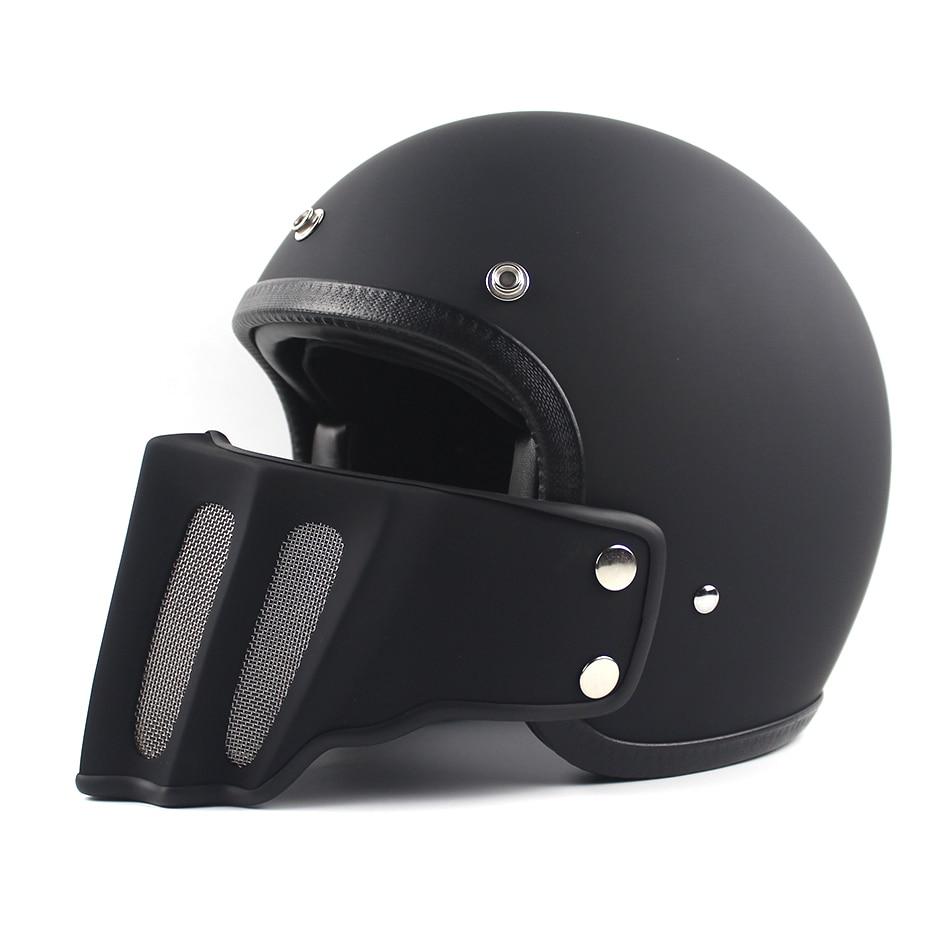 2016 TT&CO helmet Japanese Thompson motorcycle helmet Removable chin Spirit Rider Retro Harley Motocross Helmets for moto