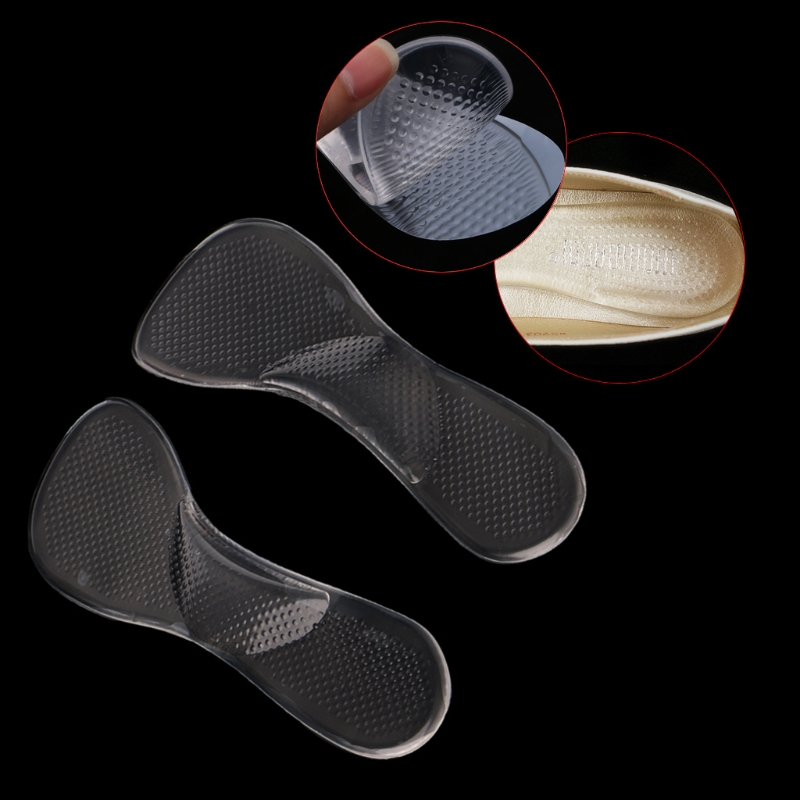 Silicone Gel Adjusting Flatfoot Correction Arch Support Heel Insoles Seven Point