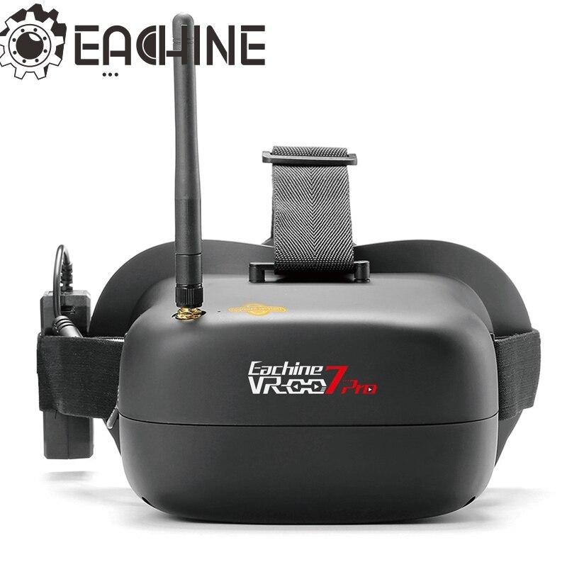 Новое поступление Eachine VR-007 Pro VR007 5,8G 40CH FPV очки 4,3 Inch видео гарнитура с 3,7 V 1600 mAh Батарея