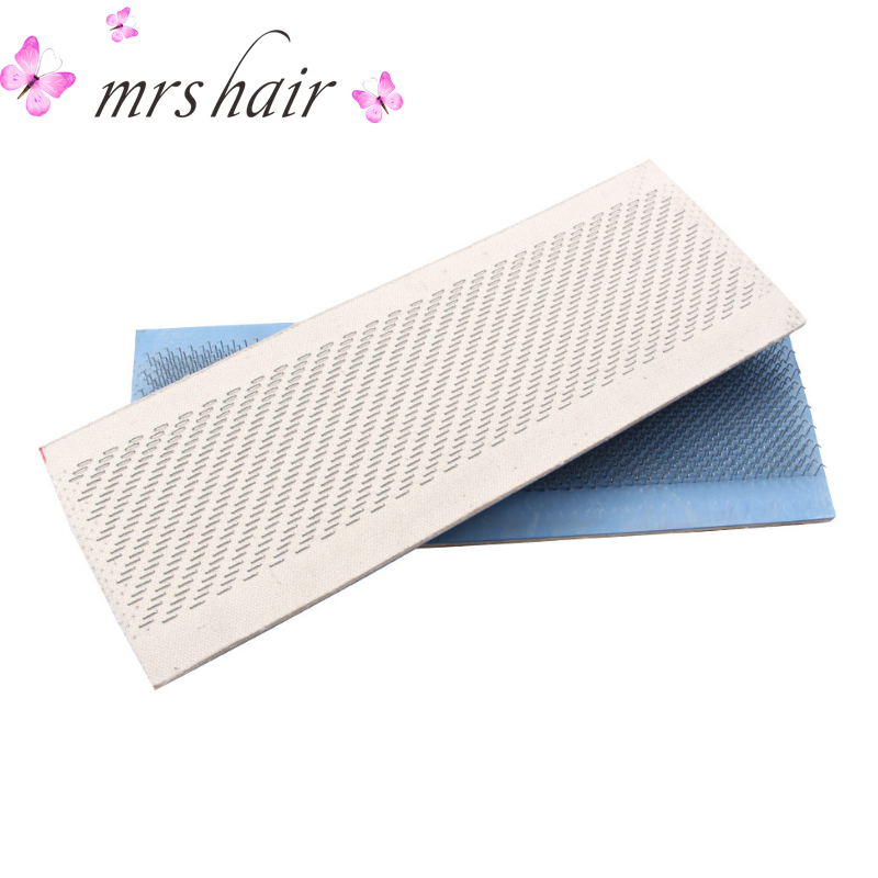 Hair Holder Drawing Mat 27cm x 9cm Bulk Hair Extensions Holder For Human Bulk Hair Extensions Styling Tools Hair Hackle alileader essential hair holder for wig making drawing mats wire 2 piece cards hair drawing card hair extension tools