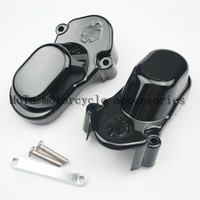 New Black Rear Axle Kit Cover For Harley Sportster XL883 XL1200 2005 2014