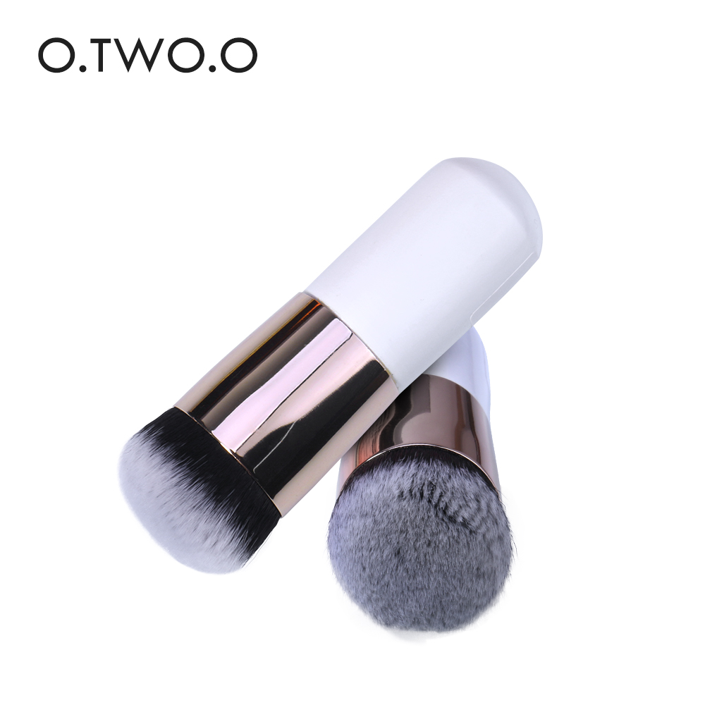 O.TWO.O 1pc Make Up Brush Contour Foundation BB Cream Loose Powder Brush Multifunctional Makeup Brushes тушь make up factory make up factory ma120lwhdr04