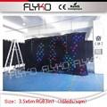 LED Stern Vorhang Neue Heiße fabrik preis LED Hochzeit Kulissen LED DJ Backdorps 3 5 m höhe von 6m breite-in Bühnen-Lichteffekt aus Licht & Beleuchtung bei
