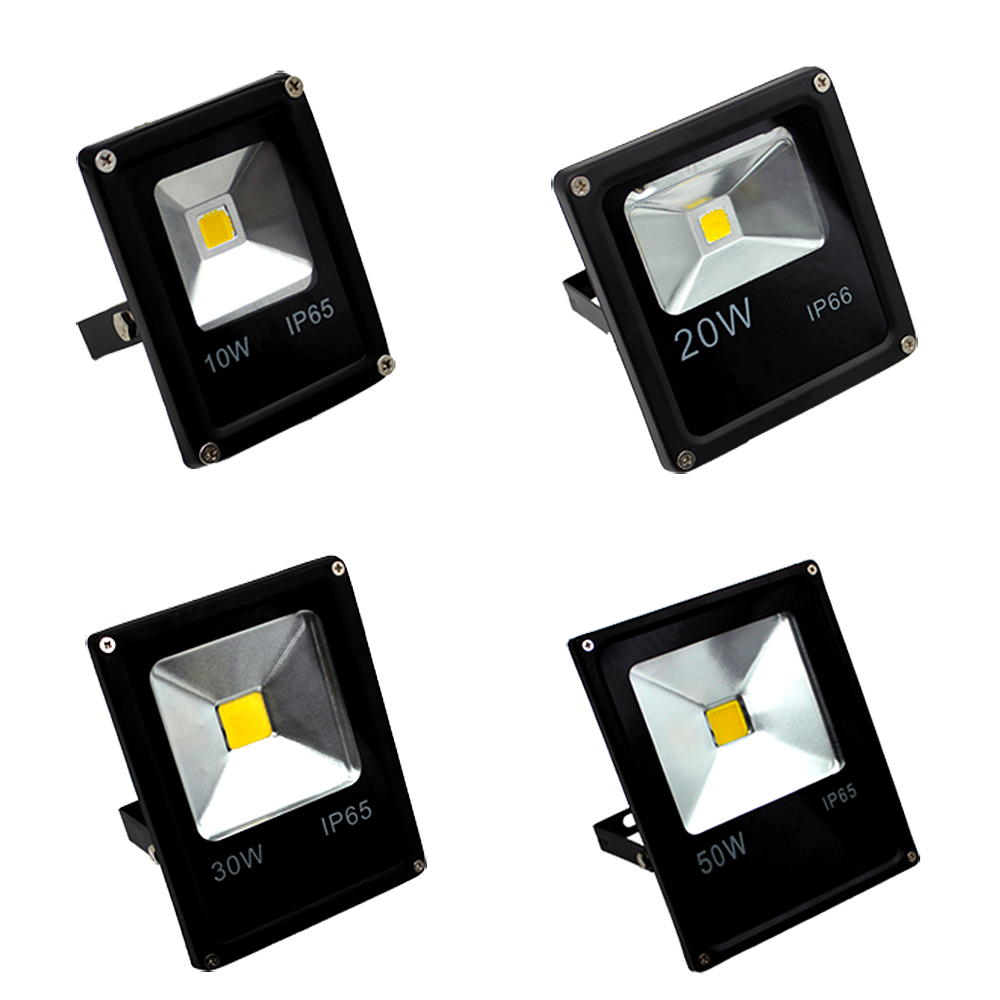 Popular reflector led buy cheap reflector led lots from for Focos led exterior 50w