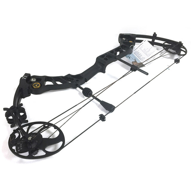 Topoint Archery Left hand bow, compound bow,With 20-70 lbs Draw Weight, black color for human outdoor hunting, Archery bow 2