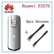 Разблокированный Huawei E3276S-920 E3276 4G LTE модем 150 Мбит/с WCDMA TDD беспроводной USB Dongle plus(2 шт 4 г антенна