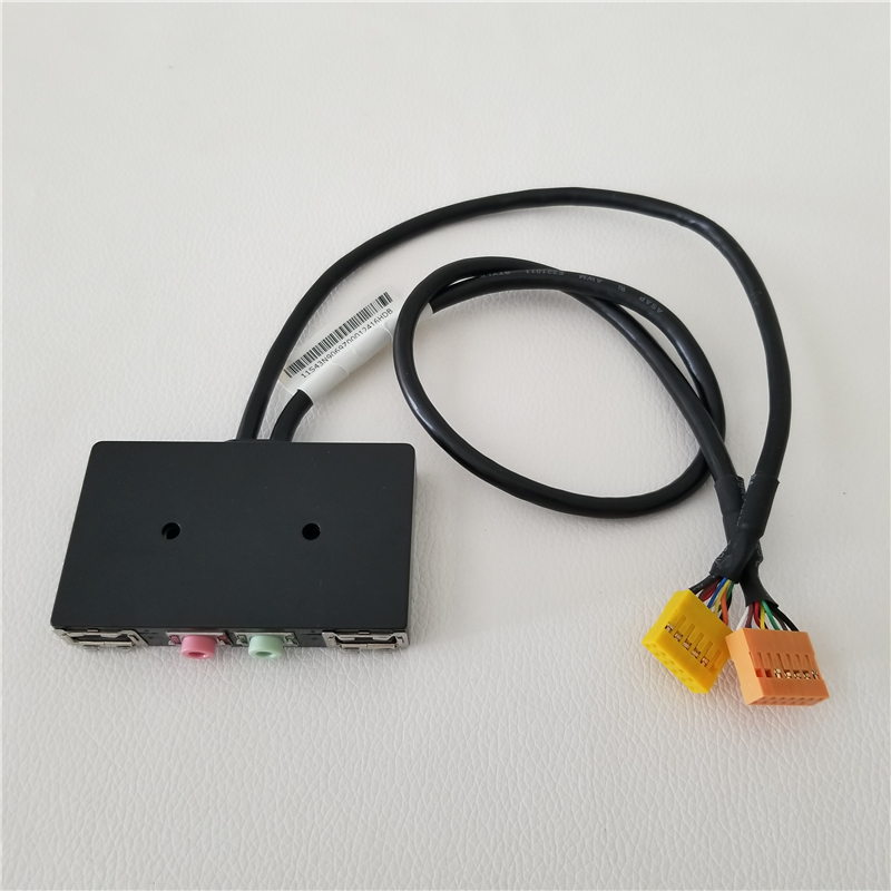 Host case USB 2.0 AC97 / HD AUDIO MIC Board Front I/O Panel for Lenovo Chassis PC DIY