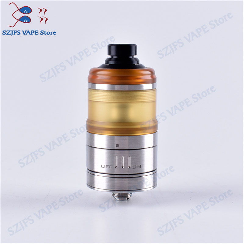 Original Shenray Dome V3 RTA Atomizer 3.5ML Capacity 316 SS 24mm Diameter E Cigarette Vapor Vape Vaporizer For 510 Vs Glaz RTA 2