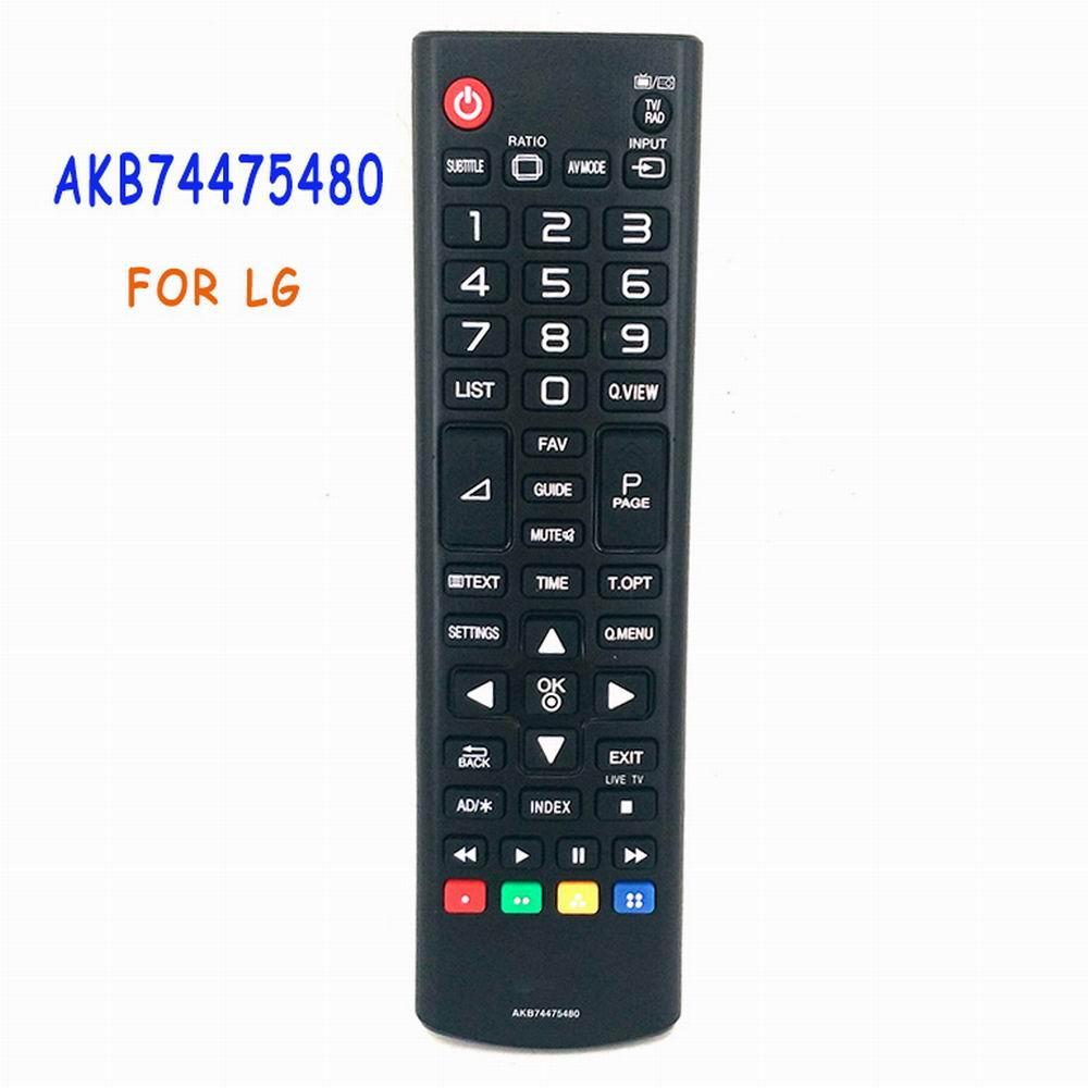 New Original Remote Control AKB74475480 For LG LED Smart TV Replace AKB73715603 AKB73715679 AKB73715622 32LH500D Fernbedienung used original for philips home system remote control rc2683701 02 313923819902 fernbedienung free shipping