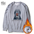 HanHent This is my Spot Sweatshirts Thick Men Funny Streetwear Fleece Fashion O-Neck The Big Bang Theory Cotton Hoodies AD0309