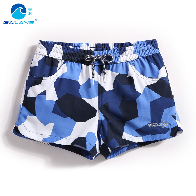 Ladies   board     shorts   beach surf swimming trunks sexy swimwear Camouflage summer beach   shorts   mesh sexy bathing suit plavky