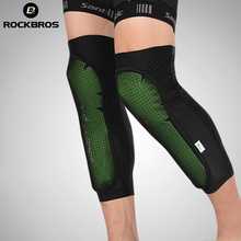 ROCKBROS – équipement de protection des genoux pour vélo, jambières, genouillères, pour Sports de plein air, équipement de randonnée, tenue de sport