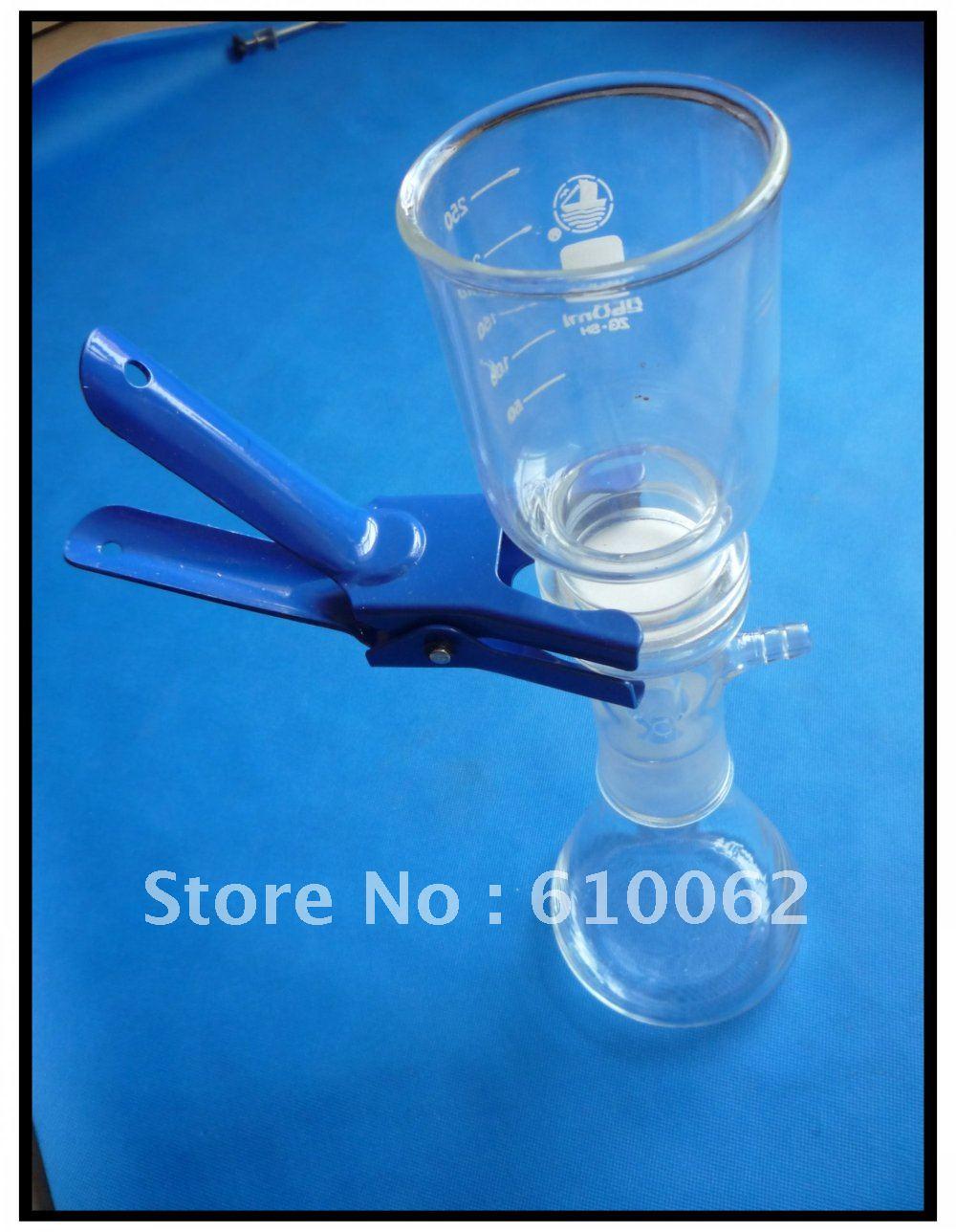 Dispositif de filtration daspiration sous vide, appareil de filtration Buchner, avec flacon filtrant 500 mlDispositif de filtration daspiration sous vide, appareil de filtration Buchner, avec flacon filtrant 500 ml