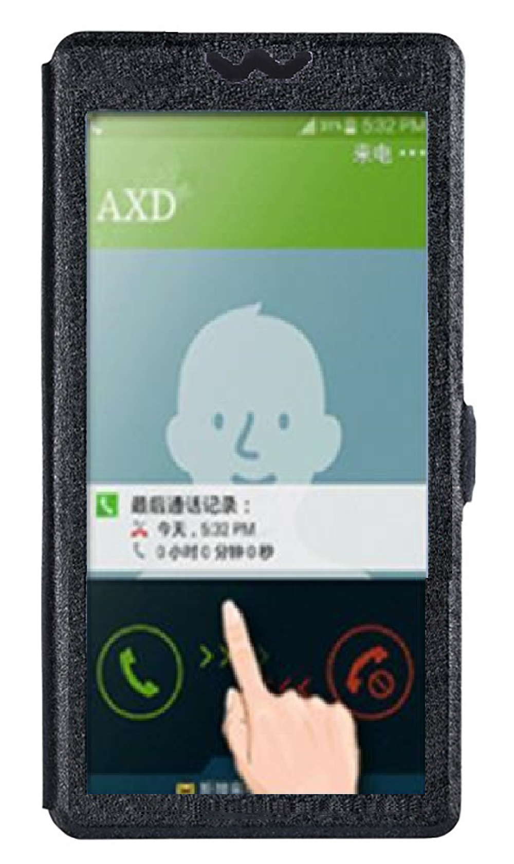 Hot sale! Digma VOX S503 Case TOP Quality Cartoon phone bag flip Leather Cover with window for Digma VOX S 502