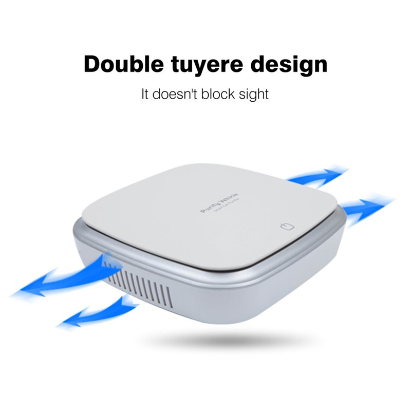 Smart Touch Воздухоочистители автомобильный ионизатор Анион автомобиля Воздухоочистители дыма для удаления пыли Портативный USB очиститель воз...