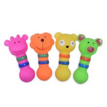 Fashion Rubber Dog Toys Small Animal Shape Dogs Train Their Molars To Bite Make A Sound Pet Supplies Chew Toy