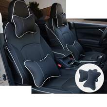 lsrtw2017 wearable fiber leather car seat cover cushion for subaru forester xv 2018 2019 2020 sk