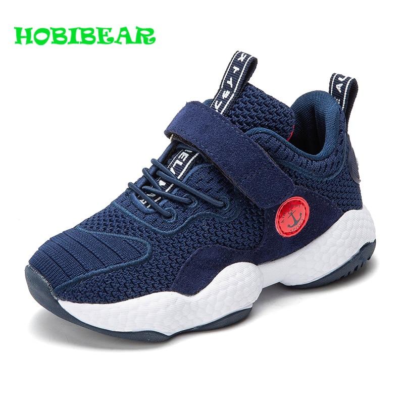 HOBIBEAR Girl Kids Designer Sneakers Anti Slip Boy Fashion Sport Shoes Outdoor Unisex Breathable Kids Sneakers Summer Cute Shoes