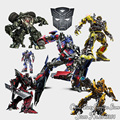 2016 New Transformers Bumblebee Optimus Prime assembled all the children's room wall stickers decorating boys room decor sticker