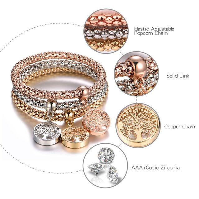 3 Bracelets - Set 1