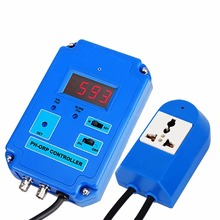 Cheapest prices 2in1 Digital pH (0 to 14pH) ORP (-1999 ~ 1999mV) Controller Meter Tester Freshwater and Saltwater  in 110V and 220V