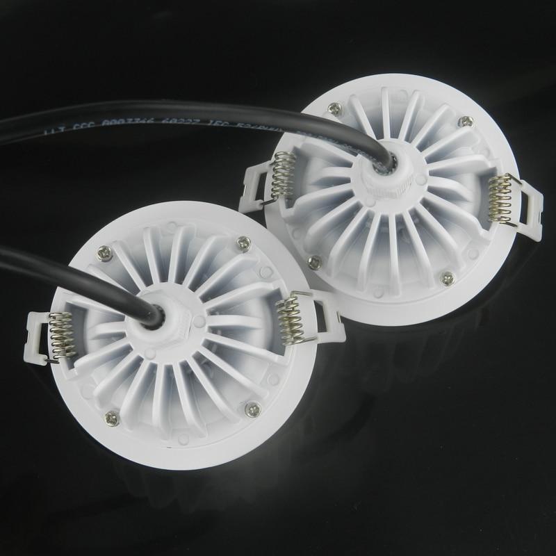Անջրանցիկ IP65 AC 220V 7W / 10W / 12W / 15W / 18w / 20w / - Ներքին լուսավորություն - Լուսանկար 5